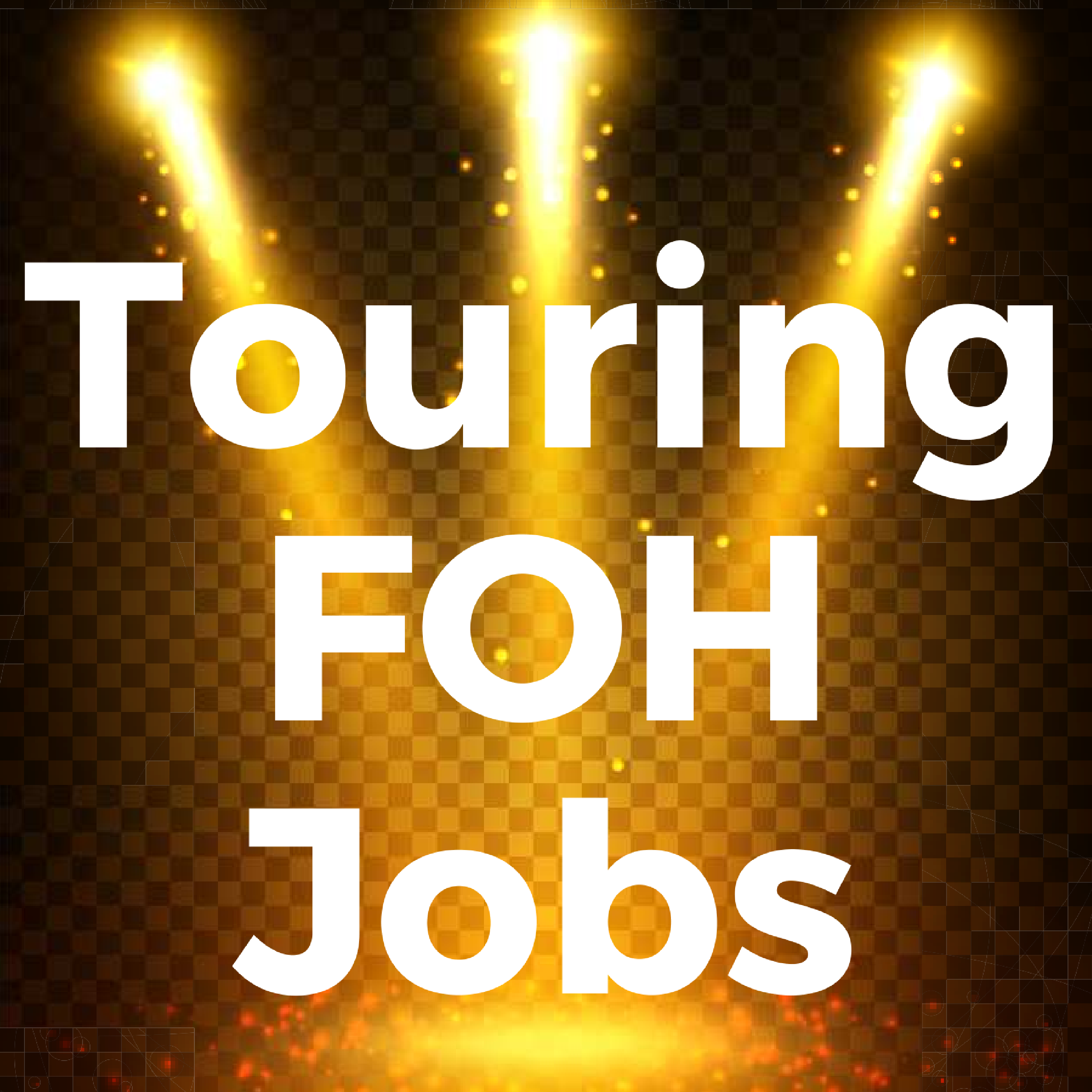 Do you want a touring foh sound engineer job you need to for Sound designer jobs